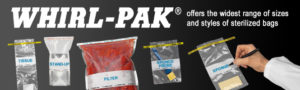 whirl-pak lab supplies